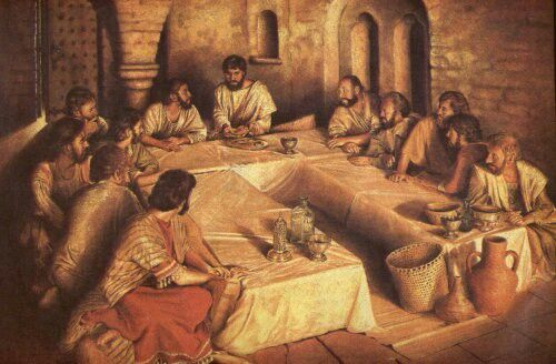 Jesus, Yeshua our Messiah at Passover.