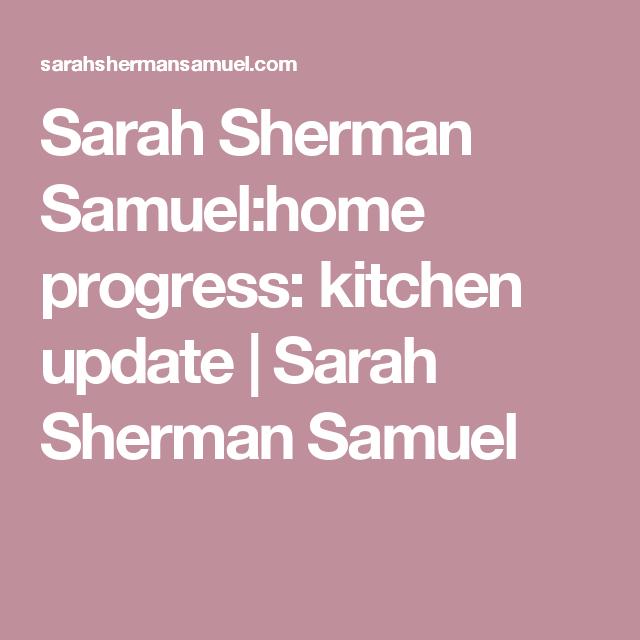 Home Progress: Kitchen Update