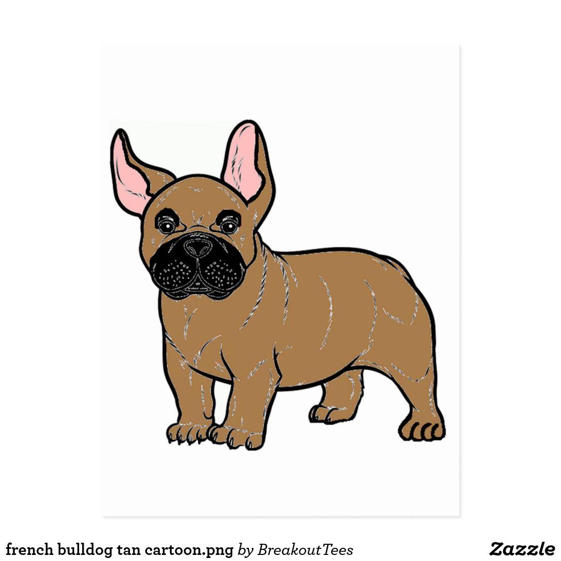 French Bulldog Tan Cartoon Png French Bulldog French Bulldog Tan Vinyl Sticker