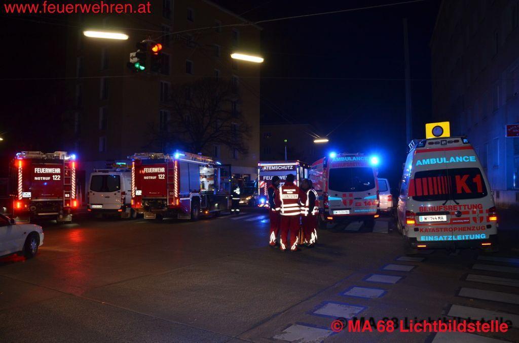 Kellerbrand in Wien #feuerwehr #firefighter