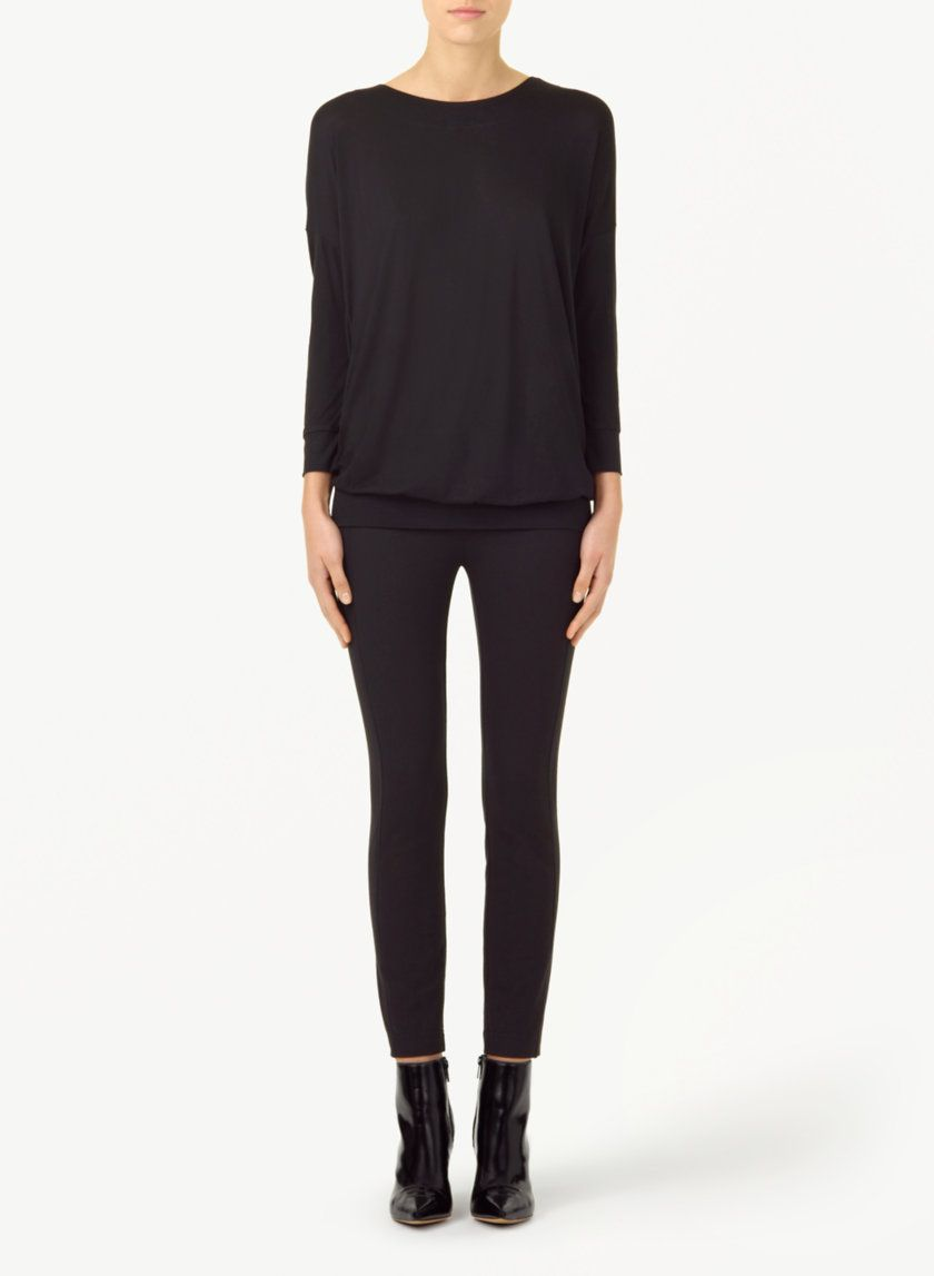 WILFRED NAVETTE T-SHIRT - Soft and drapey with a sexy low back