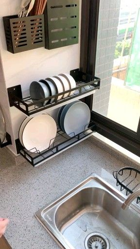 How can I organize my small kitchen?