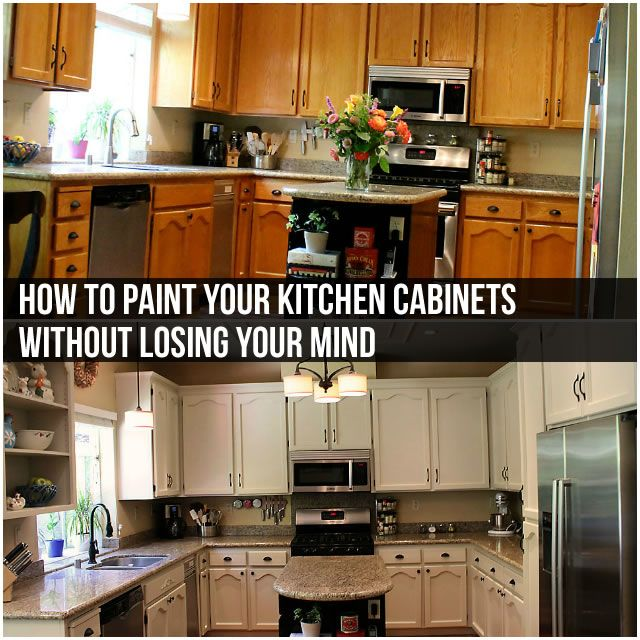 Painting Your Kitchen Cabinets - Plan Ahead Kitchen ...
