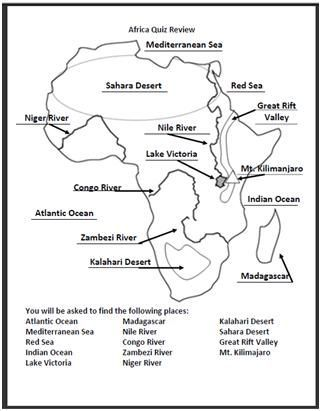 I made this africa geography quiz for an assessment i included a i made this africa geography quiz for an assessment i included a review that tells gumiabroncs Gallery