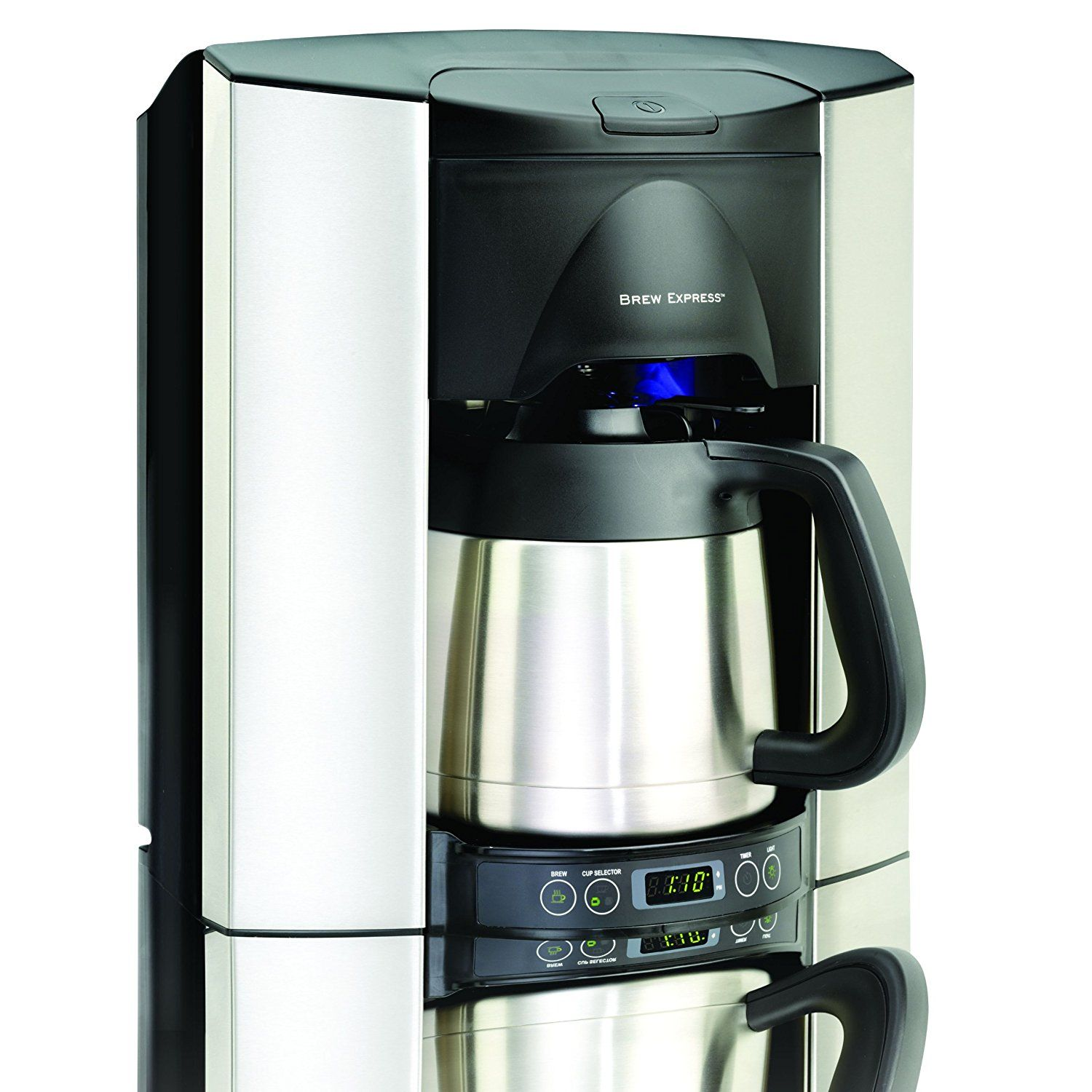 Brew Express Bec 110bs 10 Cup Countertop Coffee System Stainless