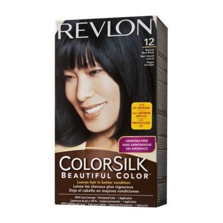 Revlon Colorsilk Hair Color Natural Blue Black 12 1b Juan Thinks