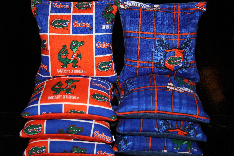 Fabulous Cornhole Bean Bags University Of Florida Gators 8 Aca Lamtechconsult Wood Chair Design Ideas Lamtechconsultcom