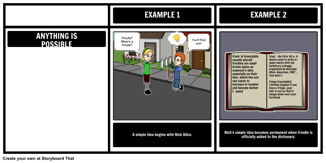 Create A Theme Storyboard For Matilda Using Our Grid Layout
