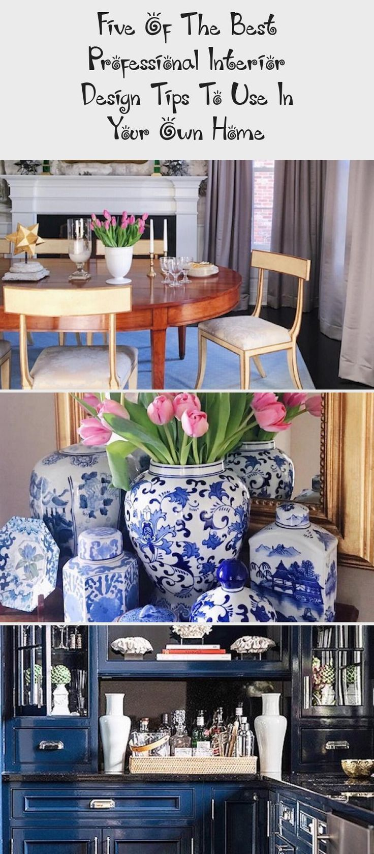 #interiordesignClassic  #interiordesignStyles  #interiordesignWhite  #interiordesignLighting  #interiordesignFurniture #Design #Tips  Interior Design Tips To Use In Your Own Home white kitchen with blue and white decor accent accessories