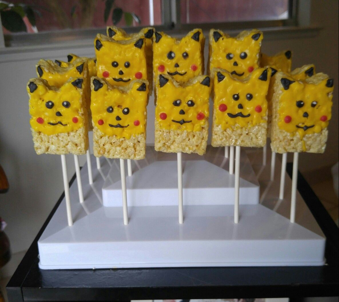 Rice Krispy Pikachu Party Ideas Pokemon Birthday
