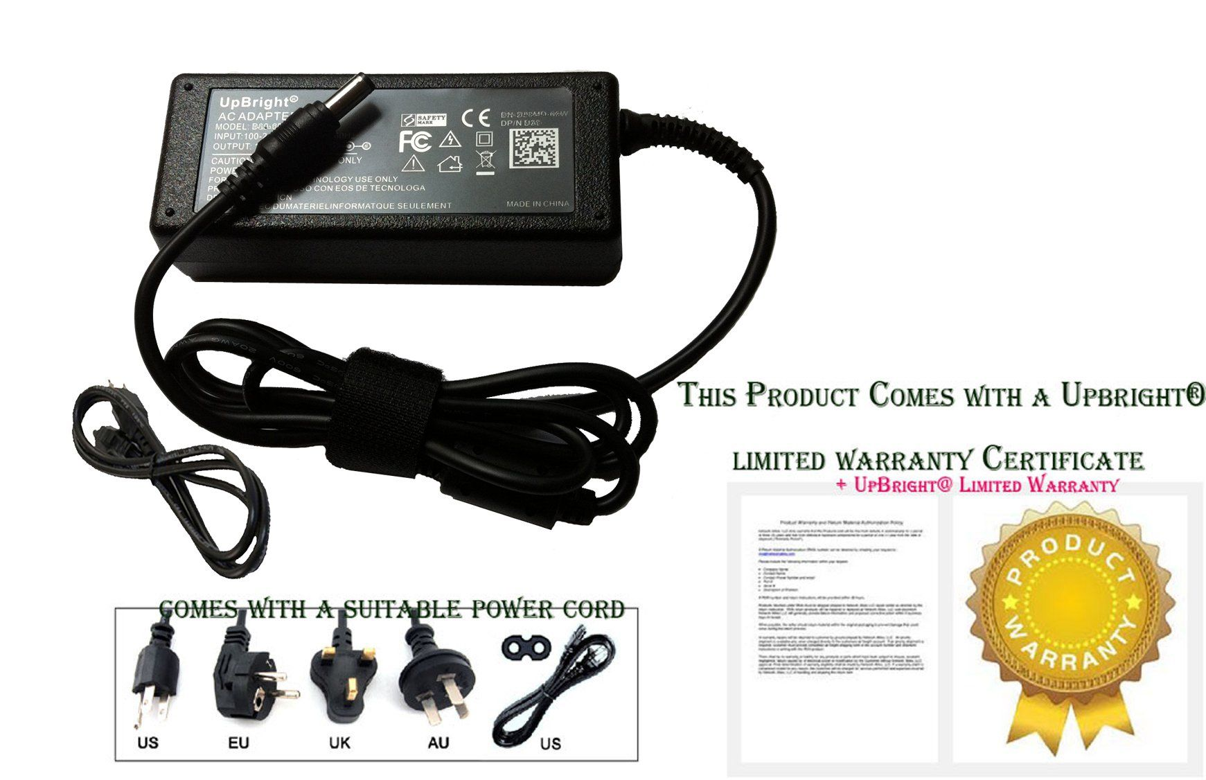 Upbright New Global 12v Ac Dc Adapter For Sharp Uadpa080wjpz Uadpa080wjpz Lcd Tv 12vdc Power Supply Cord Cable Cha Cable Charger Power Supply Battery Charger