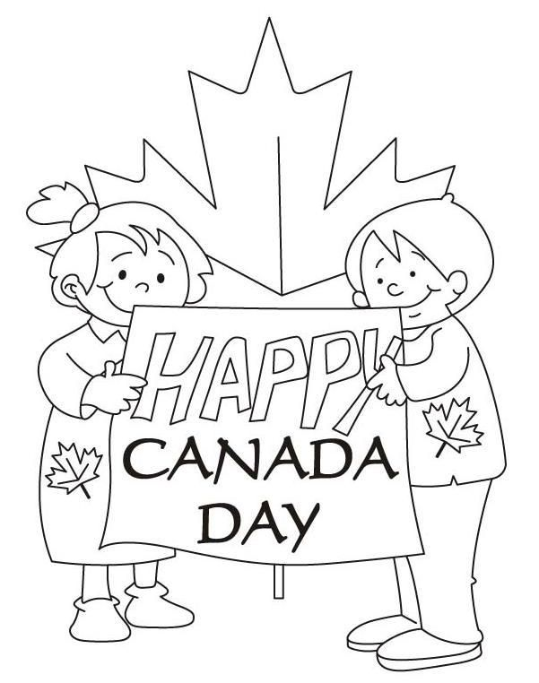 Coloringpagesfortoddlers Com Has Collection Of Original Canada Day