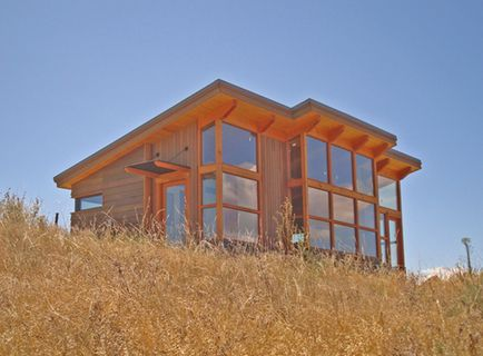 Timbercab homes feature douglas fir timberframes and for Sip cabins