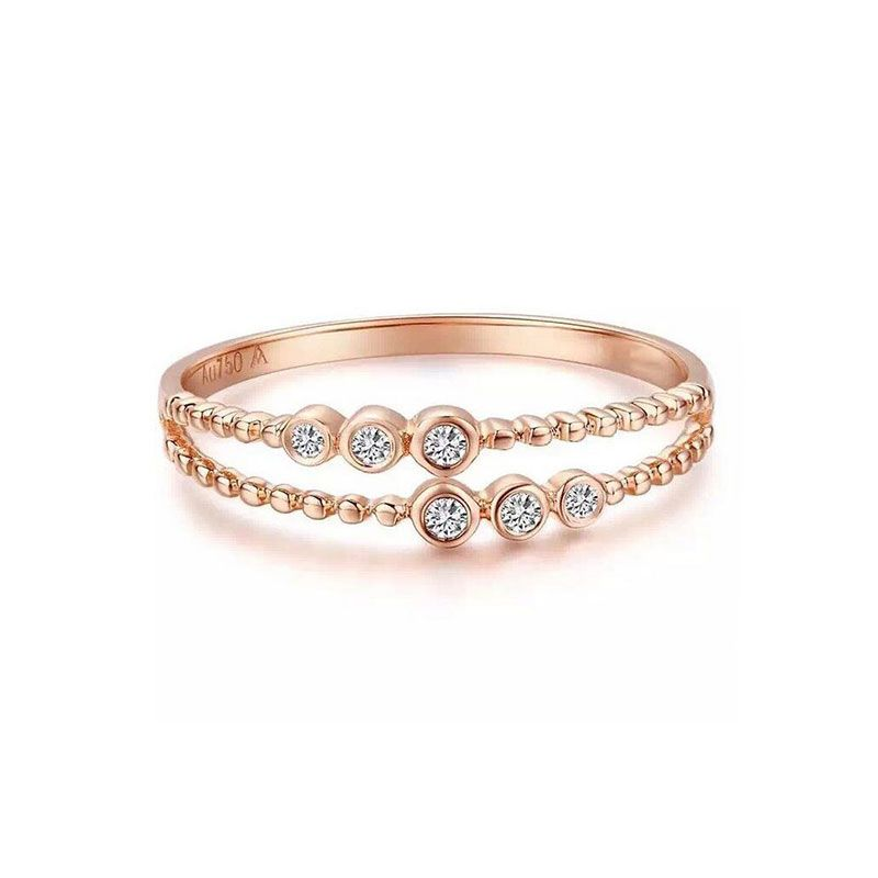 Find More Rings Information about Robira Brand Top Quality Two