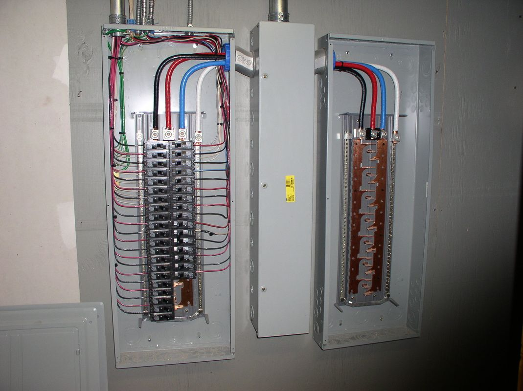 Residential lighting panel boards | 400 Amp 120/208 Volt 3 Phase Service  Upgrade
