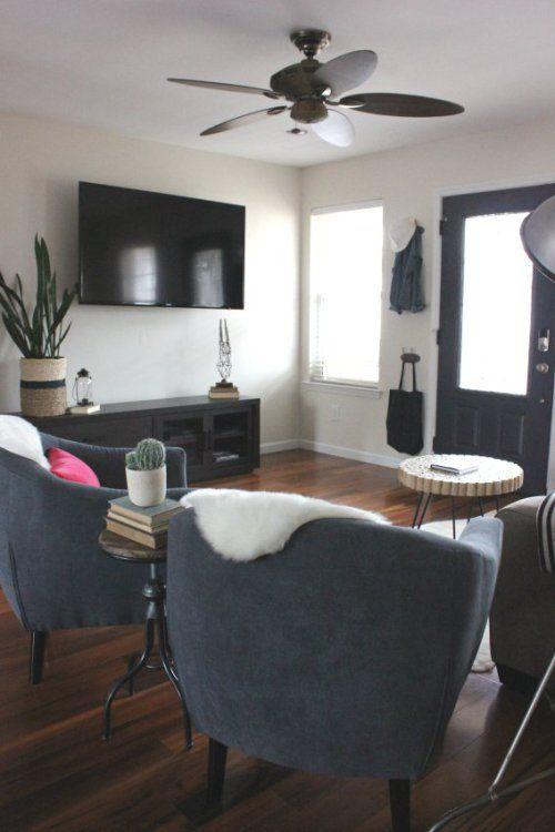 Vintage Modern Eclectic Living Room