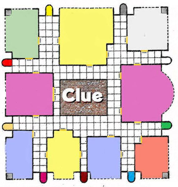 picture regarding Clue Game Board Printable known as Deliver Your Private Board Recreation the podunk librarian Clue board