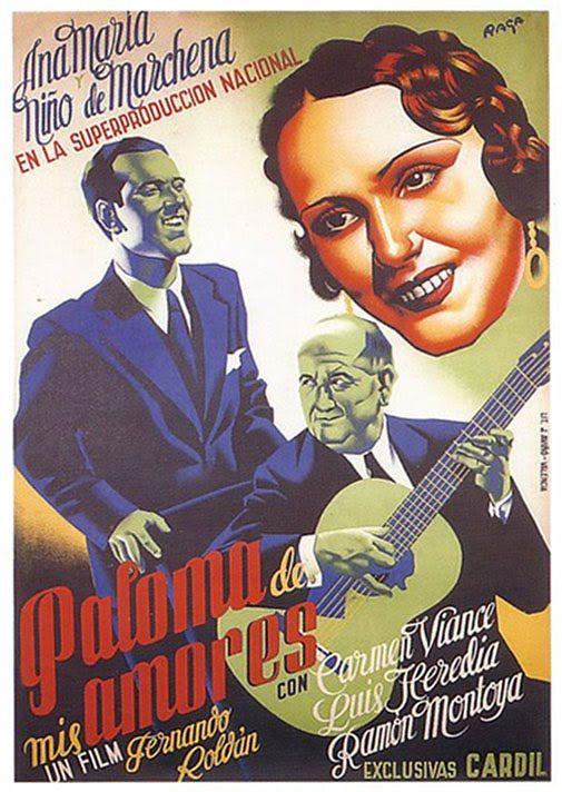 Paloma De Mis Amores 1936 Carteles De Cine Cine Cartel