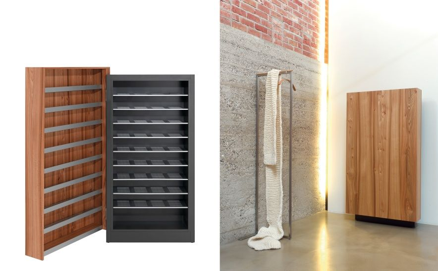 trunk sch nbuch schuhschrank design michael schwebius. Black Bedroom Furniture Sets. Home Design Ideas