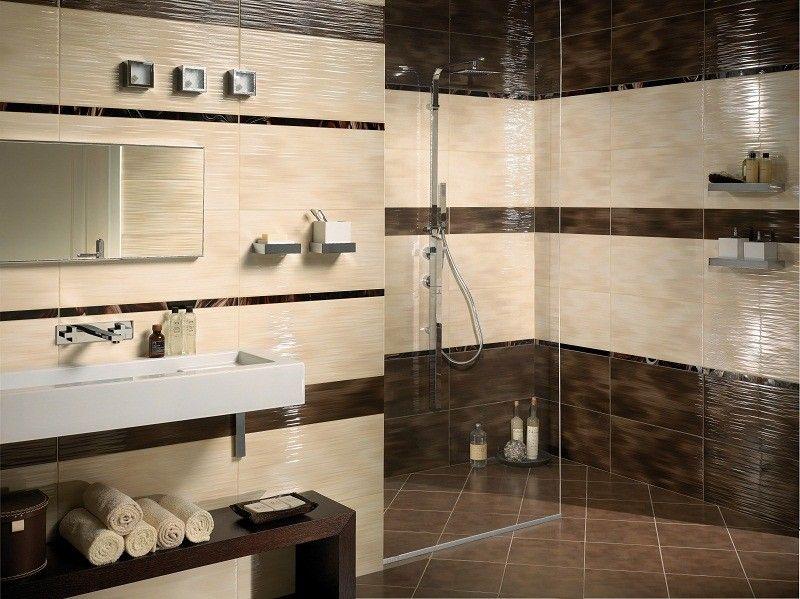 ROCCIA Supply This Product. Www.roccia.com Brown Bathroom Tile. High Gloss