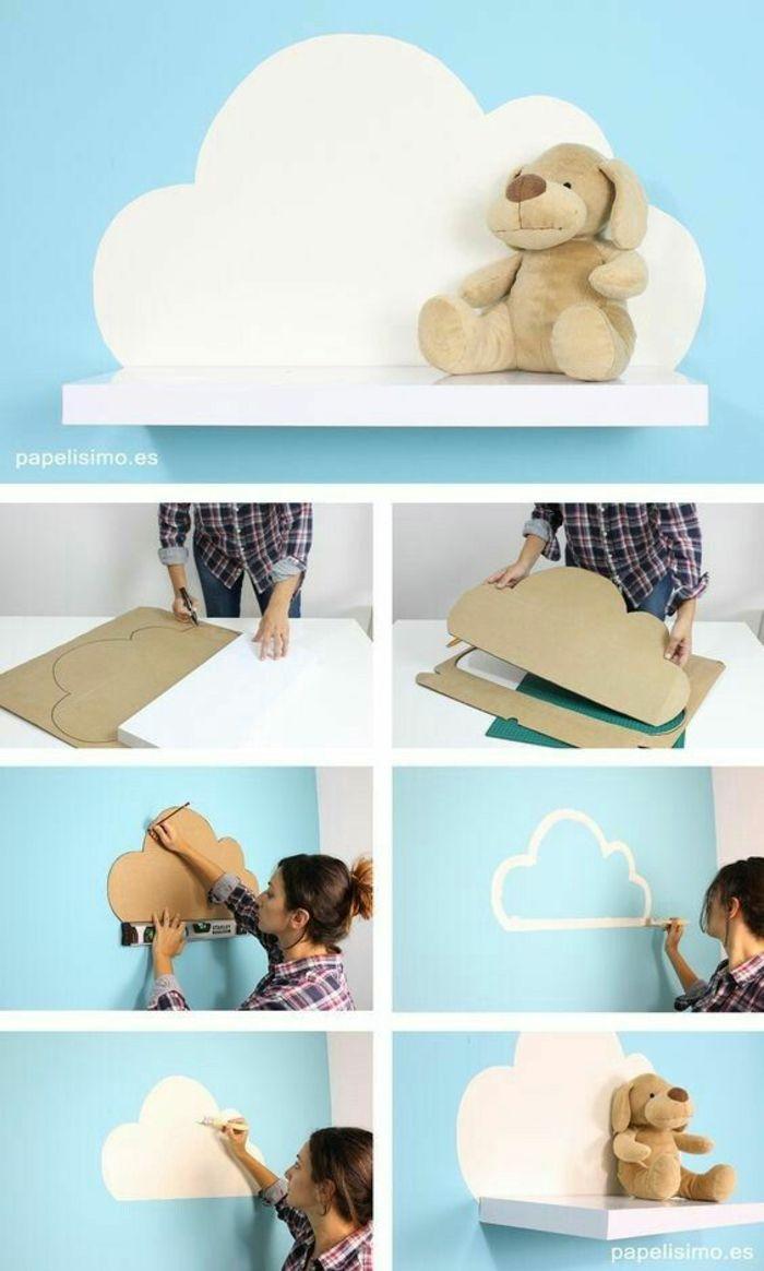1001 ideas de c mo hacer manualidades para decorar tu for Decorar habitacion bebe nino