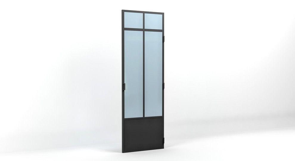 Porte Verrière Atelier Battante 2450X800   Idée Prochaine Maison