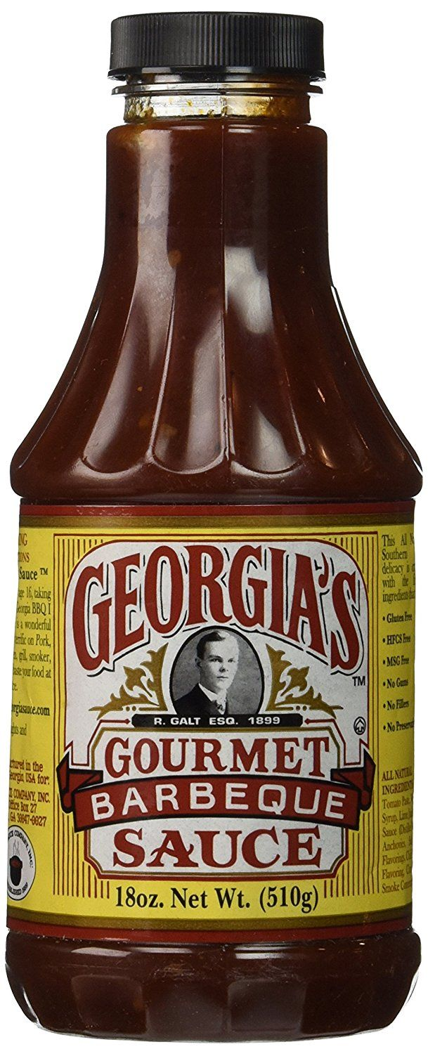 The Sauce Company Georgia's Barbeque Sauce, Gourmet, 18 Ounce * Check out this great image @ : Fresh Groceries