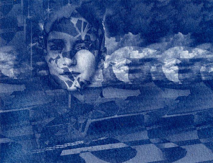 Stefan Lorente, Erik, Cyanotype