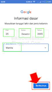 Nih cara cepat buat email atau daftar Gmail baru dari hp