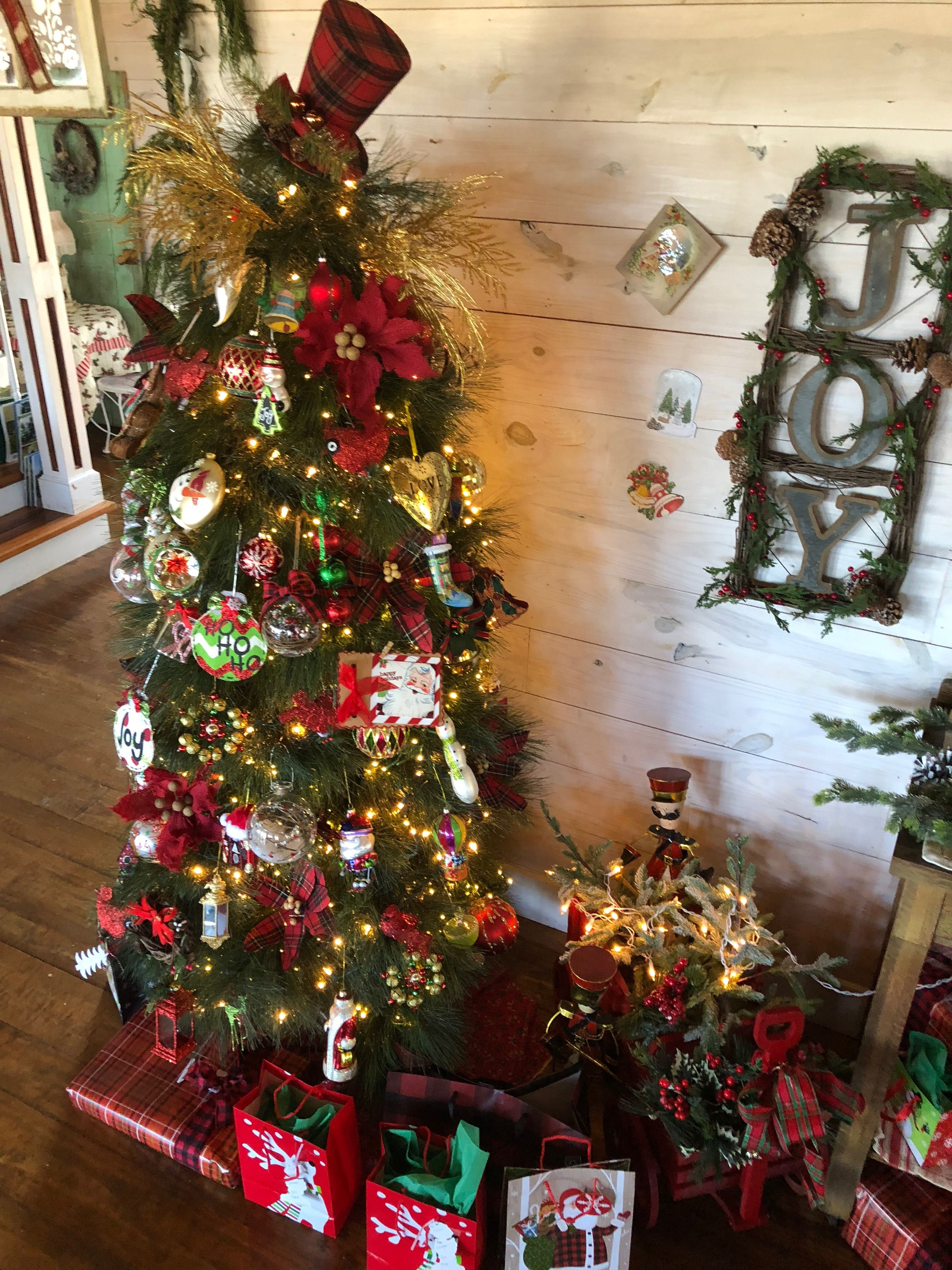 Christmas at my farmhouse by Billie Hayman Christmas