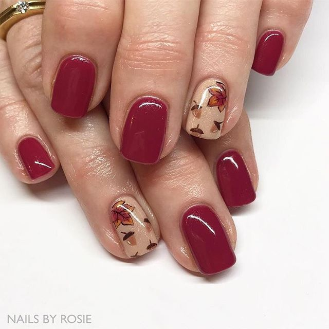 39 Trendy Fall Nails Art Designs Ideas With Images Fall Nail Art Designs Autumn Nails Fall Nail Designs