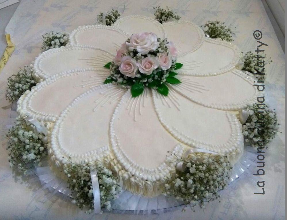 La buona cucina di katty flower cake with bouquet torta - La cucina di sara torte ...