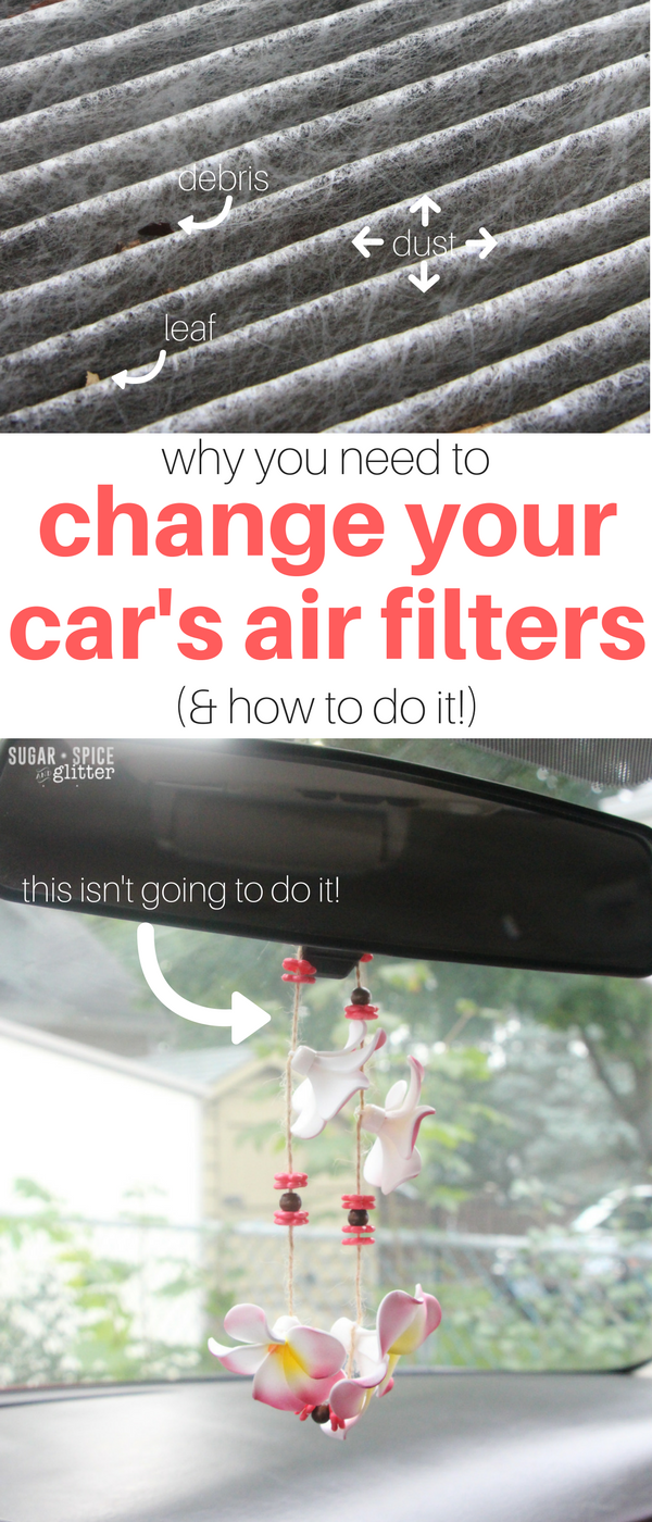 Why you need to change your car's air filters for your
