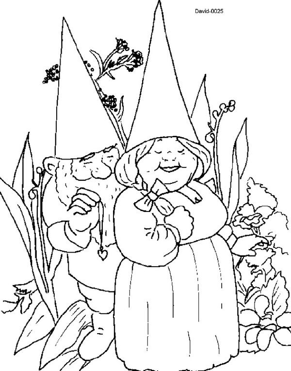 Kids N Fun Coloring Page David The Gnome David The Gnome Cool Coloring Pages David The Gnome Coloring Pages