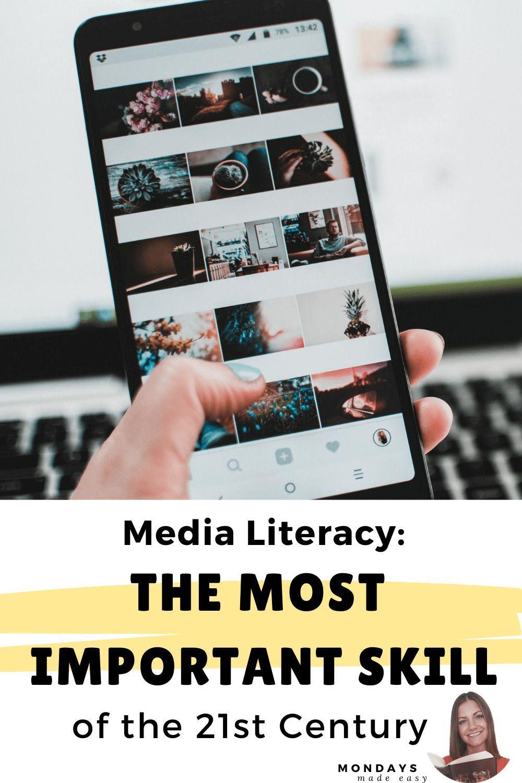 Teaching media literacy essential skills for 21st century