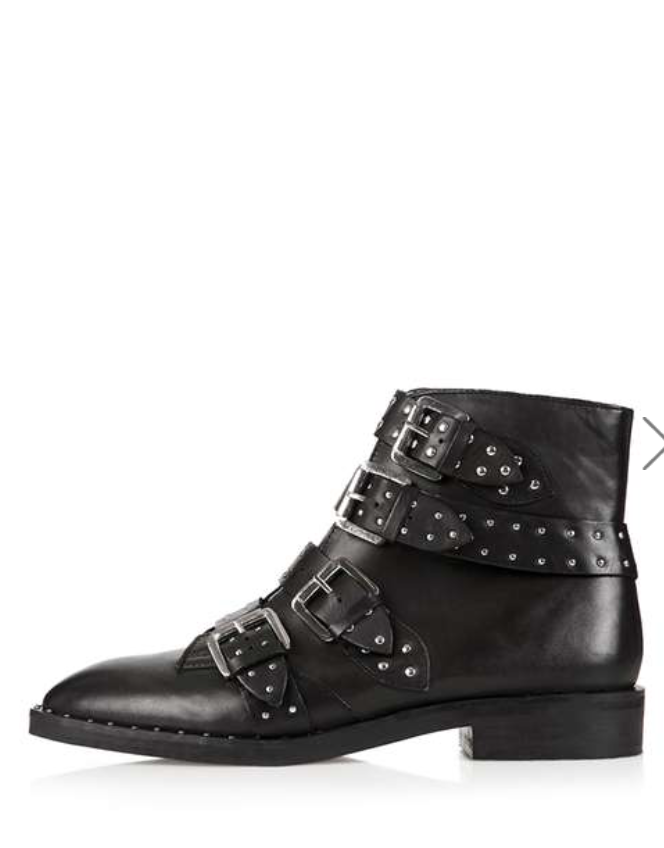 1e9126c37 Black Buckle Studded Ankle Boots | Hands down THE best Givenchy Dupes I've  seen!