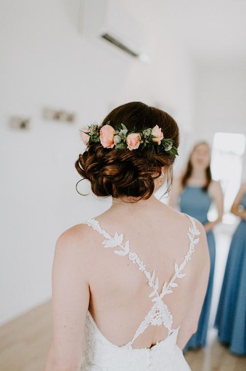 Bridal Hair Wedding Hair Bridal Up Do Wedding Up Do Flowers In