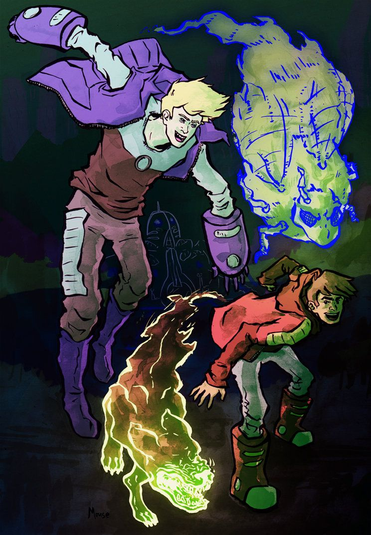 Bravest Warriors: Chris and Dan by pocketm0use