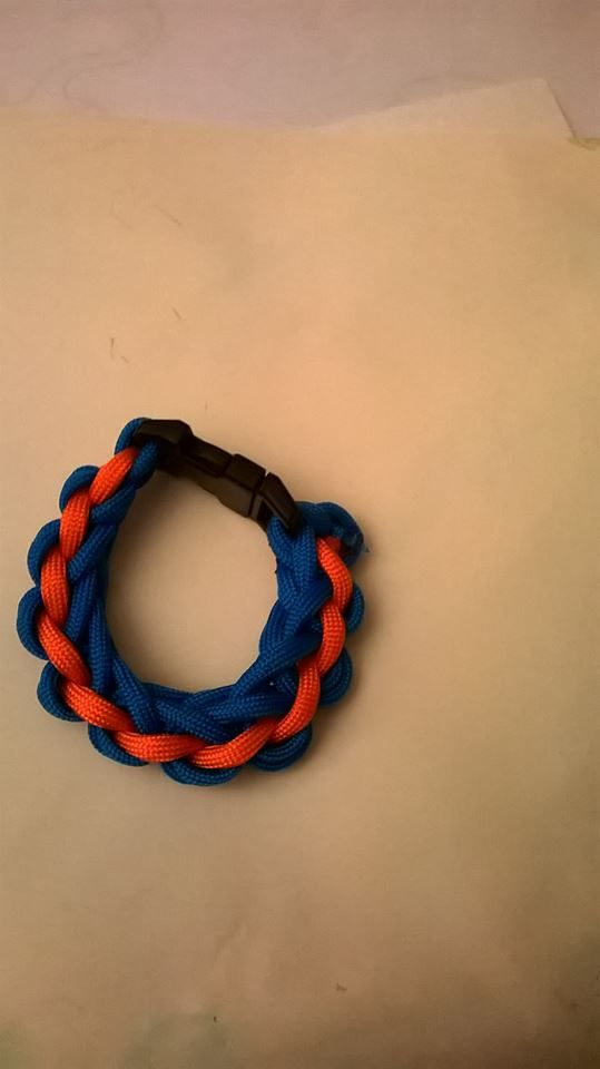 paracord waterval armband