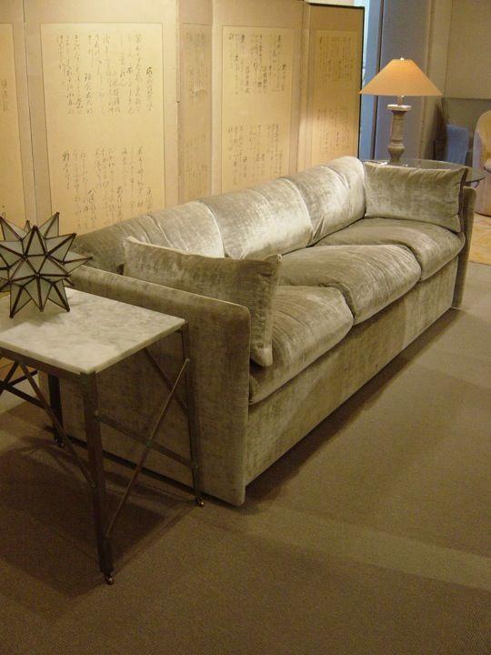 Merveilleux Silk Velvet Upholstery At Saladino Furniture