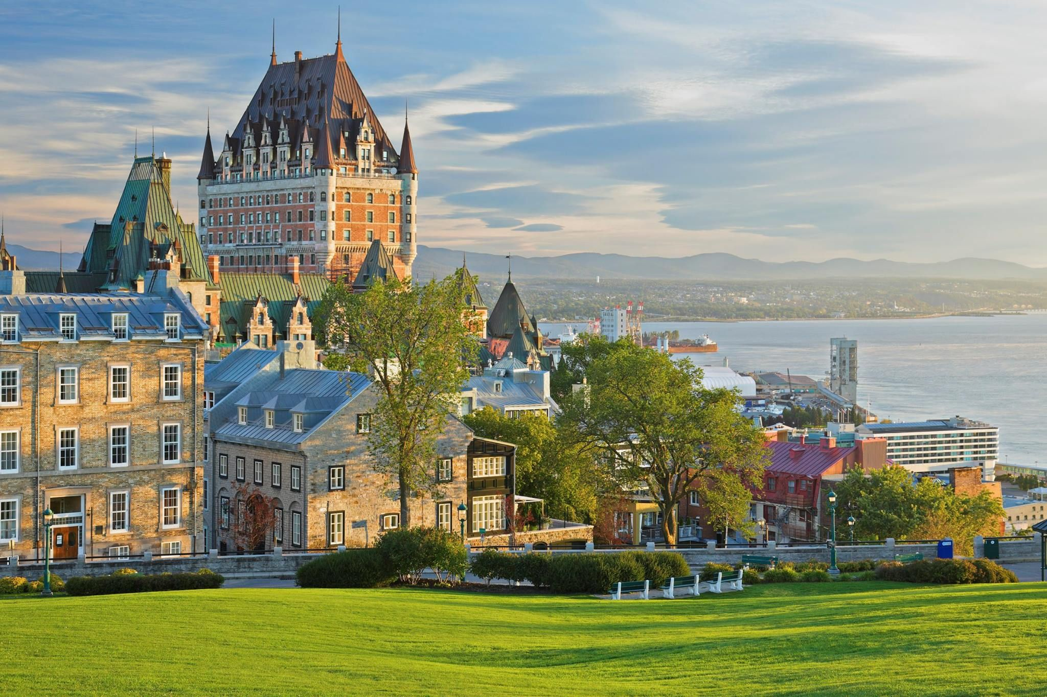 The Château Frontenac in Quebec City built in the late