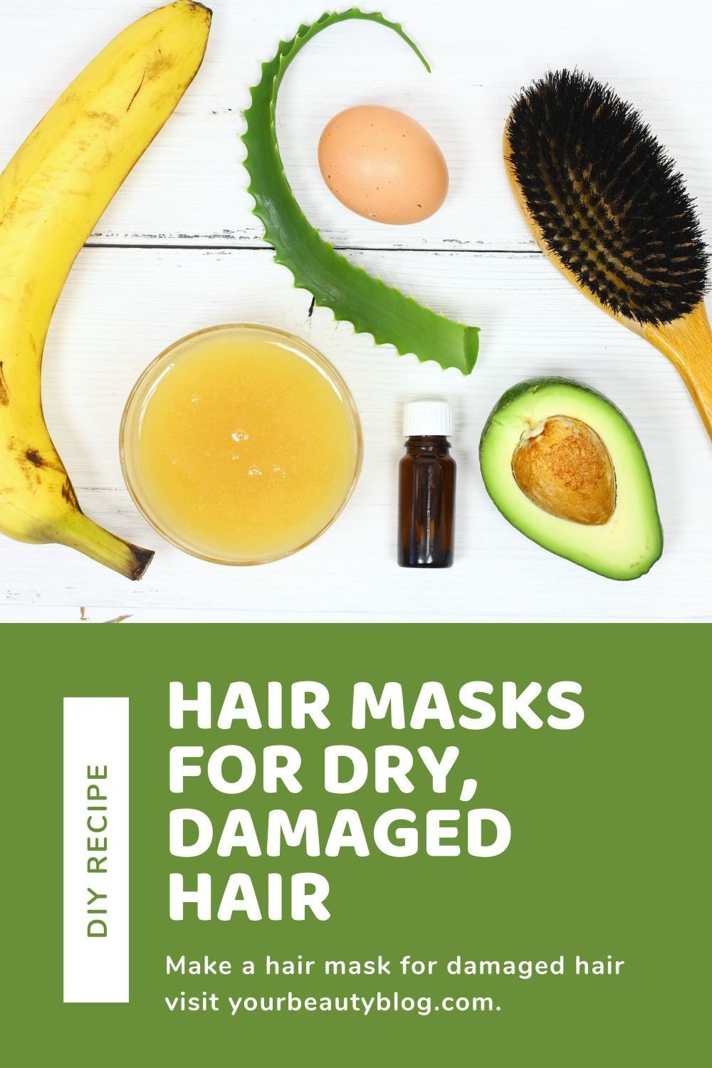 6 Easy Diy Hair Masks For Dry Damaged Hair Hair Mask For Damaged Hair Diy Hair Mask For Dry Hair Homemade Hair Products