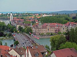 Konstanz, Germany. Would love to go back and live here