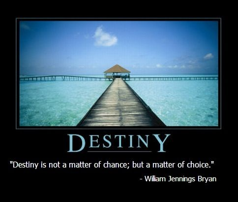 Destiny... Make a choice!