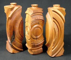 One-of-a-kind woodturnings