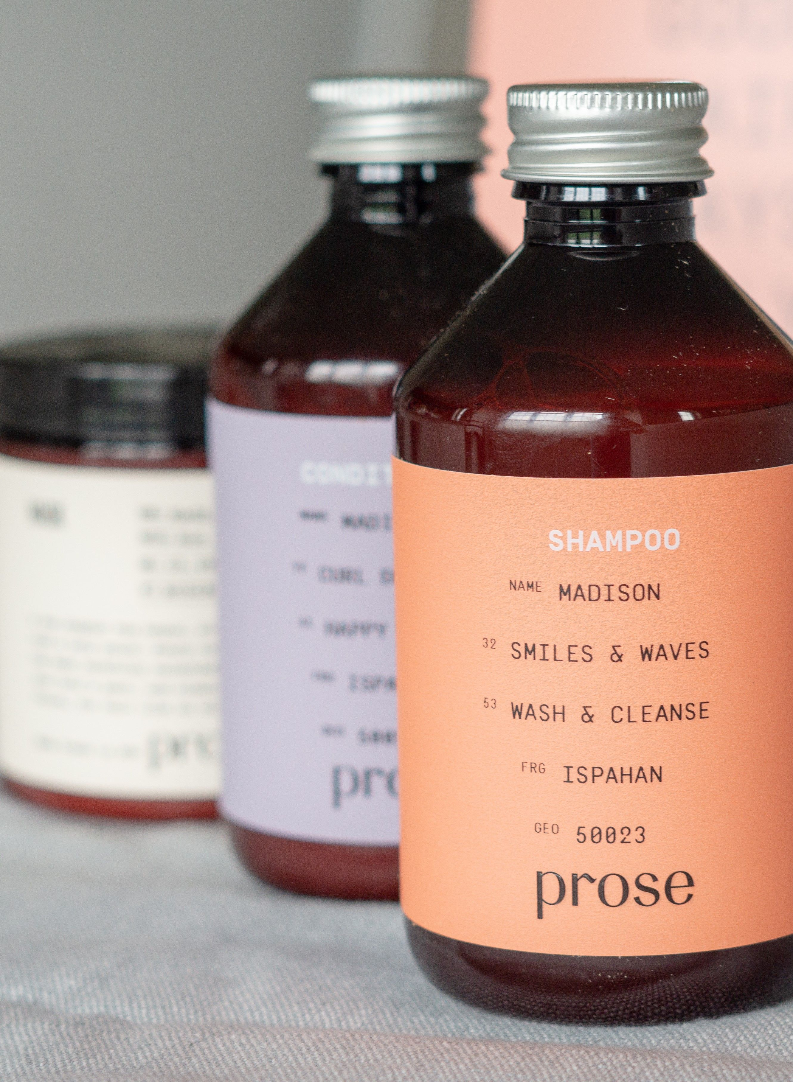 Prose Personalized Haircare Review Hair care routine