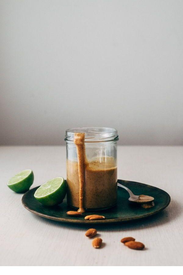 Almond Butter Thai Sauce Paleo Whole30 Vegan