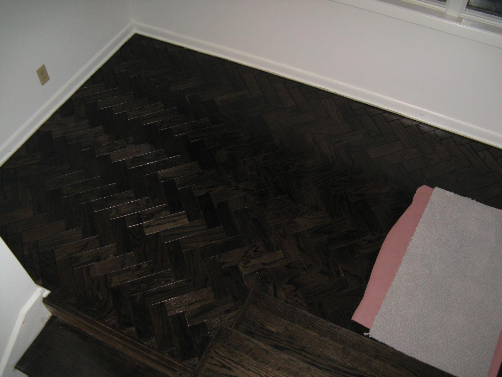 refinished parquet flooring Refinishing floors, Flooring