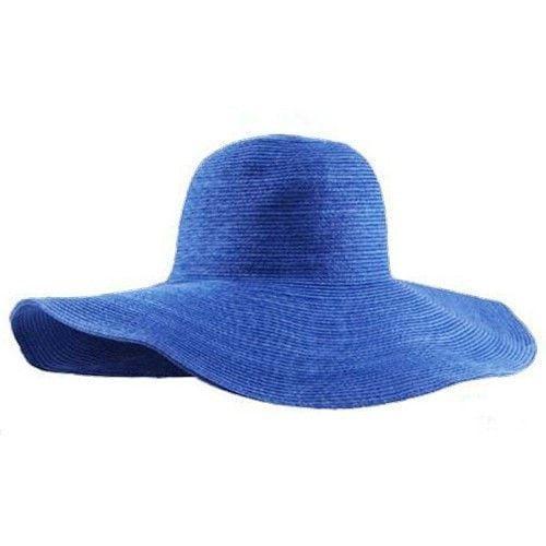 Hot Fashion Foldable Wide-Brim Floppy Summer Straw Hat 7 Colors