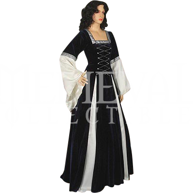 e39f3734fb6 Dark Blue Fair Maidens Gown - MCI-127 by Medieval Collectibles